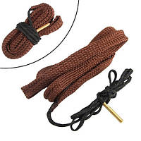 Протяжка шнур змейка для чистки ствола оружия 17, Спартак  177 калибра 4.5 мм