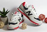 0390 Кроссовки New Balance из натуральной замши. Светло-серого цвета. 38 размер - 25,5 см по стельке, фото 3