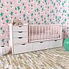 Детская комбо-кровать для новорожденных ДМ 504 А