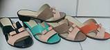 Сабо женские на низком каблуке из натуральной кожи от производителя модель ДИС152Л, фото 6