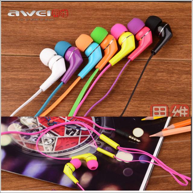 наушники купить, вакуумные наушники купить, наушники с микрофоном купить, наушники Awei купить, наушники q7i купить