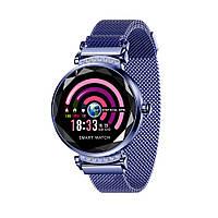 Смарт-часы Lemfo H2 с измерением давления Синий (ftlemh2ble), фото 1