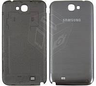 Задняя крышка батареи для Samsung Note 2 N7100, серый, оригинал
