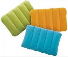 Надувная подушка Kidz для детей, 43х28х9 см, 3 цвета, 3+   Подушка для путешествий