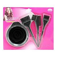 Набор для покраски волос 4в1