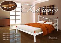 Кровать металлическая кованная Калипсо двуспальная