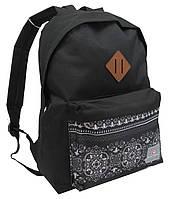 Рюкзак молодежный 17L Corvet, BP2039-82 черный