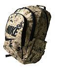 Спортивный камуфляжный  рюкзак Nike (45x32x20 см ), фото 2