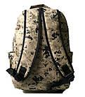 Спортивный камуфляжный  рюкзак Nike (45x32x20 см ), фото 3