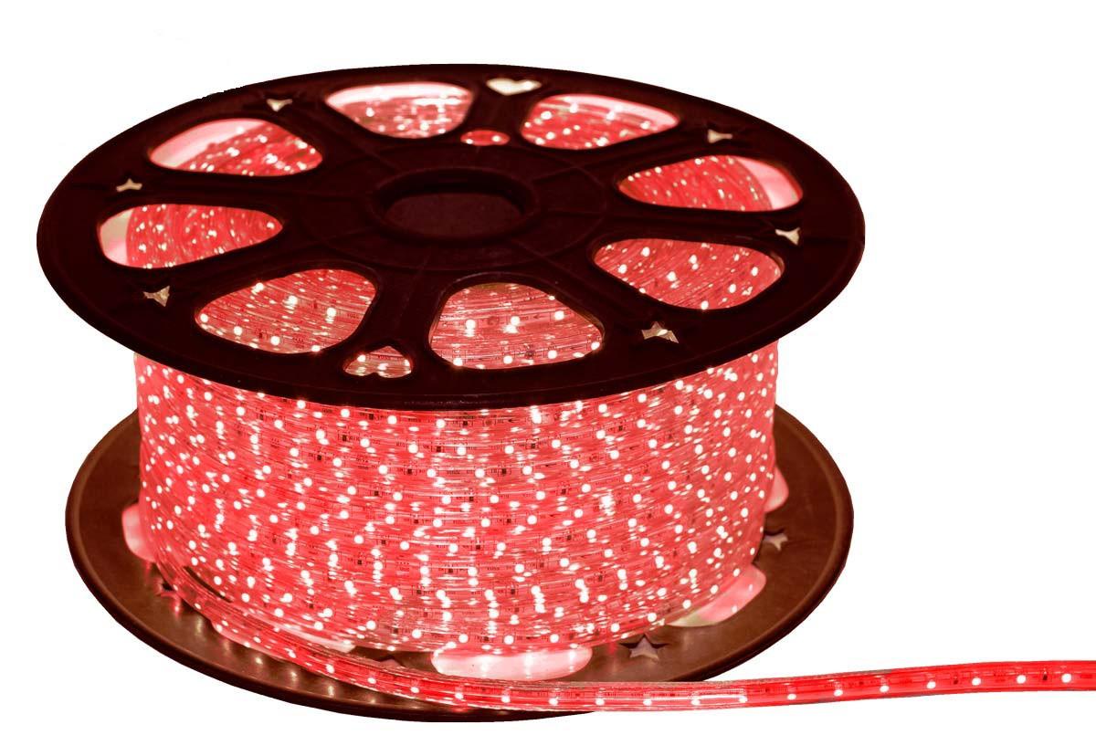 Стрічка LED на 220V 4W/m червона №10/5 120Led