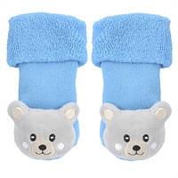 Носочки-погремушка для малыша 2-6 месяцев