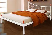 Кровать металлическая кованная Калипсо полуторная