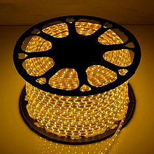 Лента LED светодиодная на 220V желтая 4W/m влагозащита IP65 №10/5 120Led