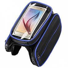Сумка-штаны под смартфон на раму BAO-003BLUE (BAO-003BLUE)