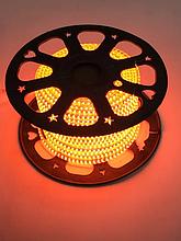 Лента LED светодиодная на 220V оранжевая 4W/m влагозащита IP65 №10/5 120Led