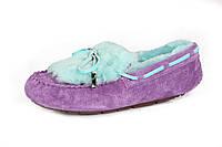 Женские мокасины UGG Dakota Fur violet, фото 1
