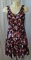 Платье женское вечернее клубное декор фантастика бренд Miss Selfridge р.42 3609