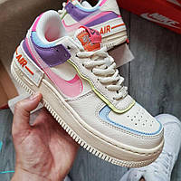 Женские кроссовки Nike Air Force 1 Low Shadow Beige Pale Ivory