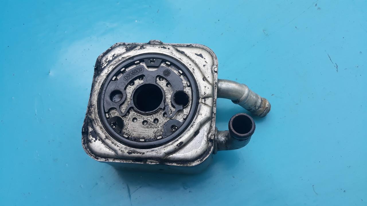Масляный радиатор теплообменник ауди а4 б5 а6 с5 а8 д2 2.5тди audi a4 b5 a6 c5 a8 d2 passat 2.5 tdi 059117021a