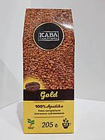 Кофе растворимый сублимированный Кава Характерна Gold 205 г