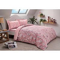 Постельное белье Tac сатин - Lennie pembe v02 розовый полуторное