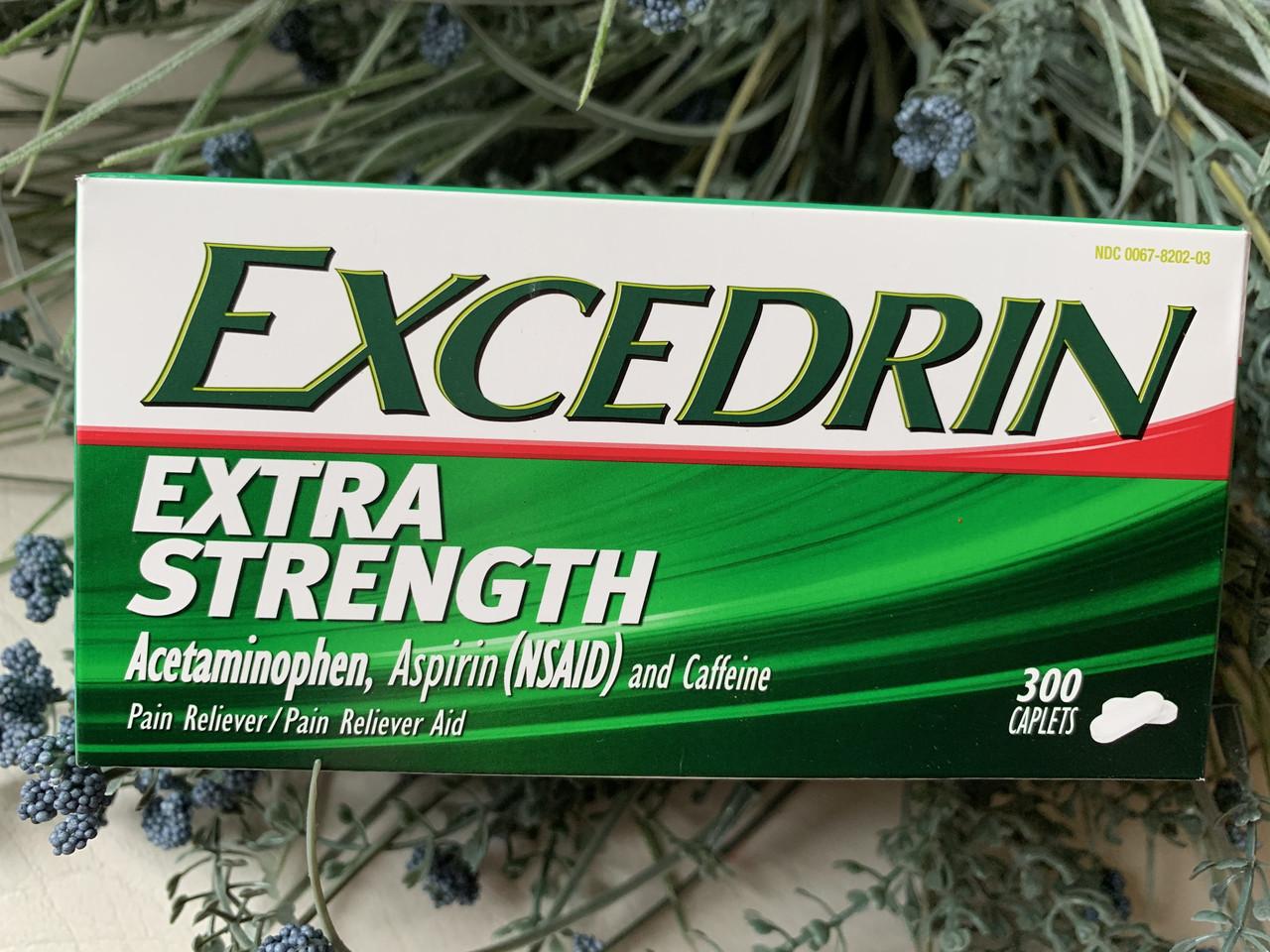 Препарат от мигрени Excedrin Extra Strength, 300штук