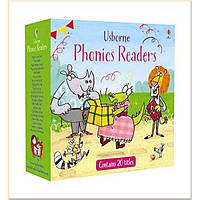 ДЕТСКАЯ КОЛЛЕКЦИЯ КНИГ USBORNE PHONICS READERS BOXSET (20 BOOKS)