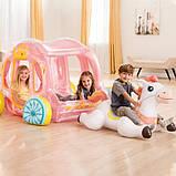Надувной игровой центр - карета в упряжке Intex 56514, 145 x 135 x 104 см, фото 2