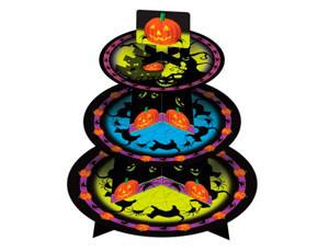 """Стойка для маффинов и десертов """"Хеллоуин""""(код 04340)"""