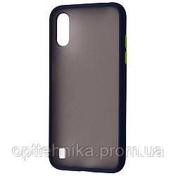 Matte Color Case (TPU) Samsung Galaxy A01 (A015F) dark_blue