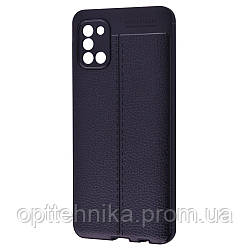 Ultimate Experience Leather (TPU) Samsung Galaxy A31 (A315) black