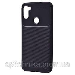 Ultimate Experience Carbon (TPU) Samsung Galaxy A11/M11 (A115/M115) black