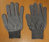 Перчатки женский стрейч серый, фото 3
