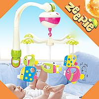Подвеска Мобиль для малыша (на кроватку) Loving Hut - Детская Музыкальная Карусель