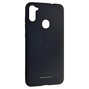 Чехол-накладка Silicone Hana Molan Cano для Samsung A11 (black)