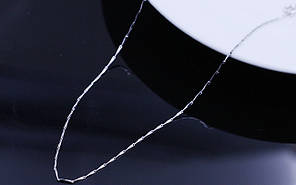 Ланцюжок посріблений Зерно 42см