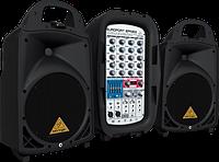 Портативная система звукоусиления BEHRINGER EUROPORT EPA300