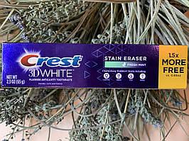 Отбеливающая зубная паста от налета Crest 3D White Stain Eraser