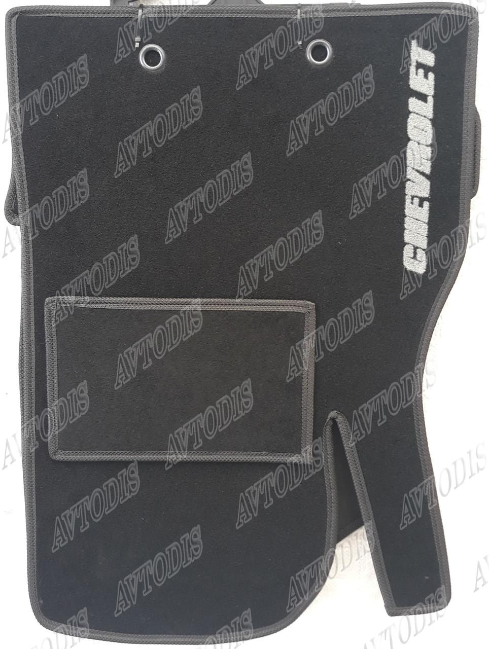 Ворсовые коврики Chevrolet Aveo 2012- VIP ЛЮКС АВТО-ВОРС