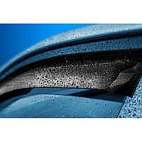 Дефлекторы на боковые стекла Fiat 500 3d (312) 2007 COBRA TUNING