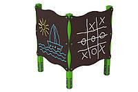 Дитячий ігровий елемент Дошка для малювання використовується в іграх на відкритому повітрі подвійна 122х122х162 см