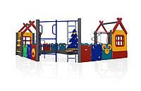 Детский игровой развивающий функциональный Элемент Play all time для открытых площадок у дома, детских садов