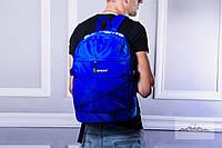 Рюкзак Supreme молодежный водонепроницаемый цвет электрик (реплика), фото 1