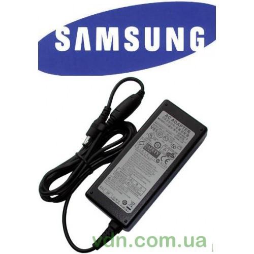 Блок питания для ноутбука Samsung, input 100-240V - 1.1A, output 19V - 3.16A