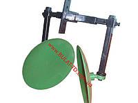 Окучник дисковый для мотоблока на рамке (диски ф 410мм на двух подшипниках)