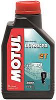 Олива для човнового двигуна Motul Outboard 2T 1л