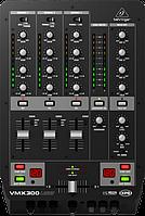 DJ микшерный пульт BEHRINGER PRO MIXER VMX300USB