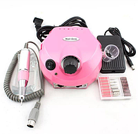 Фрезер для маникюра и педикюра Nail Drill DM-202 розовый