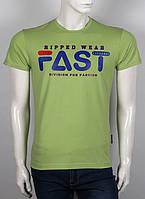 Яркая стильная оригинальная мужская футболка с надписью, фото 1