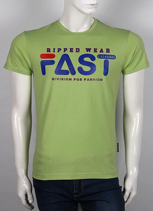 Яркая стильная оригинальная мужская футболка с надписью